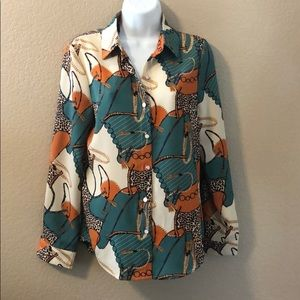 Western style blouse - Size Small